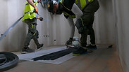 Extremely effective installation process of Noraplan floor coverings