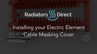 Installing your Electric Heating Element Cable Masking Cover