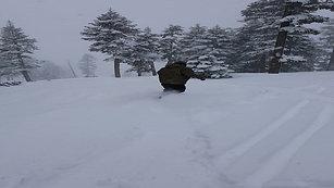 Pow Day at Northstar at Lake Tahoe