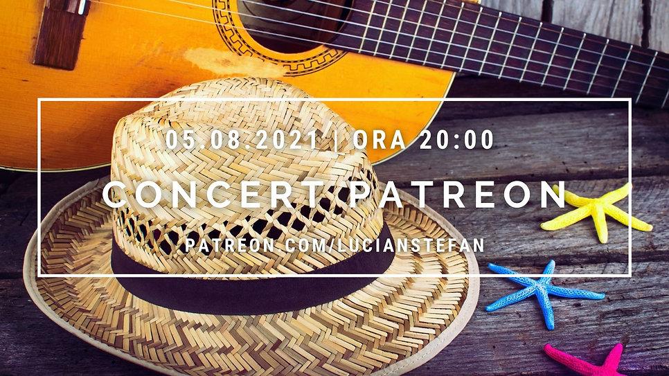 Concerte Patreon