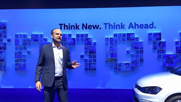 IAA Show für Volkswagen