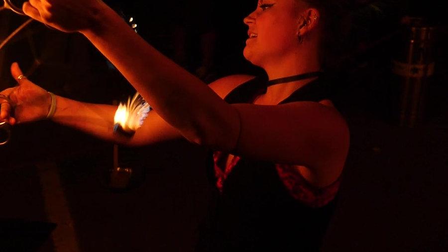 Funky Faye Fire Reel