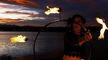 Lumiys Lumos Fire Hoop Video