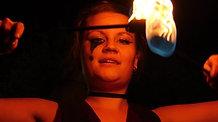 Funky Faye Circus Fire Act Recap