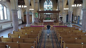 Interior Drone shot for BBC documentary