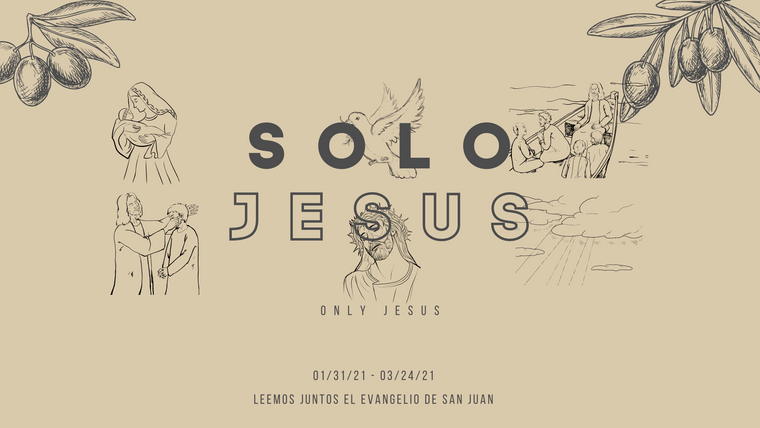SOLO JESUS   ONLY JESUS