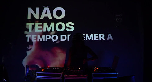 Vinil em Cores 1 DJ Ju Salty X VJ Rodney Suguita Maniaco Camera