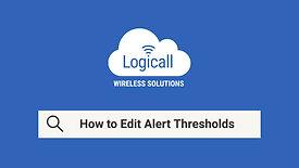 How to: Edit Alert Thresholds