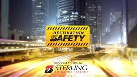DESTINATION SAFETY | STERLING AUTO MUSIC VIDEO