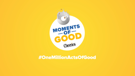 MOMENTS OF GOOD | SNACKPACKS | CHEERIOS | WALMART