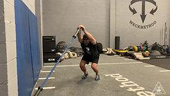 Squat Position Archer Lunge