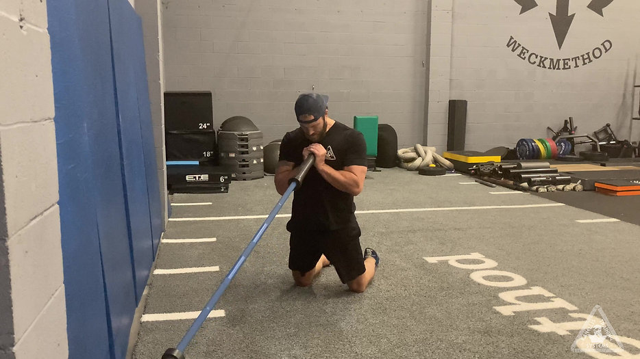 Landmine Lower Body Training