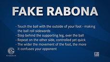 Trick 9: Fake Rabona
