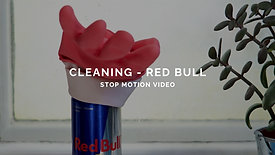 CLEANING - RED BULL