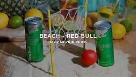 BEACH - RED BULL