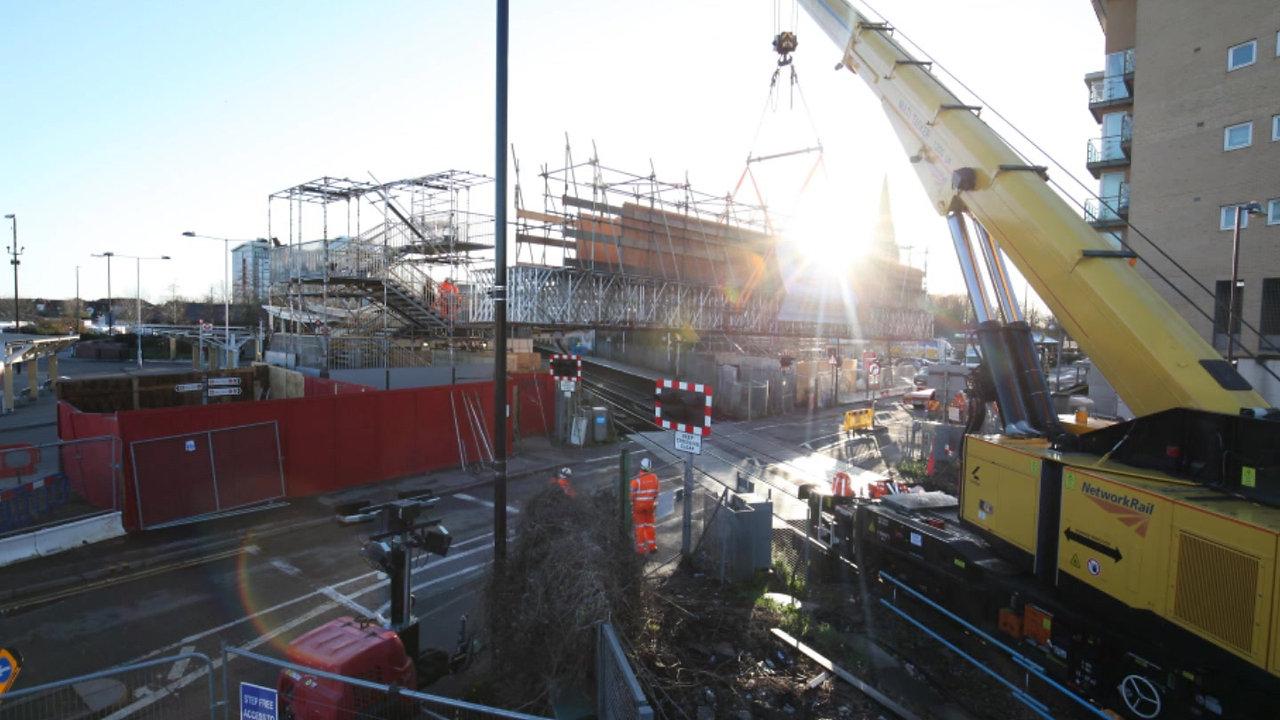 Feltham Bridge Installation High Res