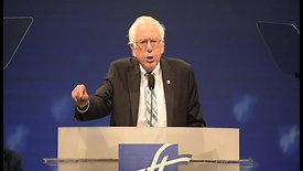 Sen. Bernie Sanders speaks at the American Federation of Teachers conference