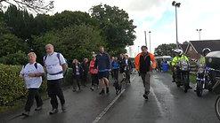 Blue Light Walk - The last leg