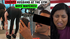 Indian Husband Flirts with Girl his Daughter's Age, Wife Disgusted | To Catch a Cheater