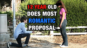 12 Year Old Boy Proposes to Girlfriend! **MUST SEE ENDING!** | To Catch a Cheater