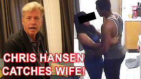 Chris Hansen Confronts Cheating Muslim Wife! First Woman Confrontation | To Catch a Cheater