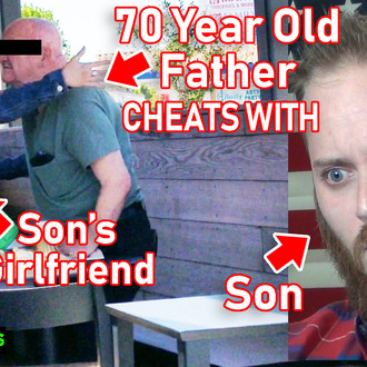 Father Tries to Screw Son's Girlfriend!