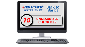 Part 10 Unstabilized Chlorines