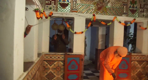 The Temple Pooja