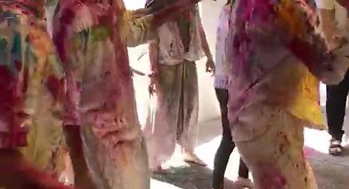 Holi 2020 at Phool Chatti Ashram