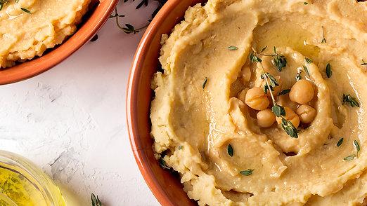 Traditional Homemade Hummus