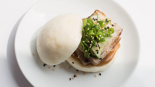 Asian Pork Belly Bun