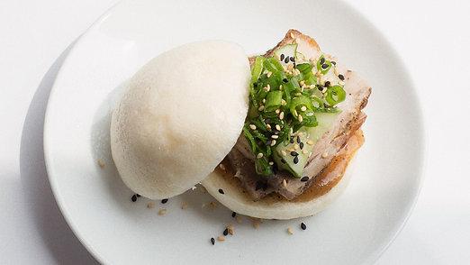 Asian Pork Belly Bun
