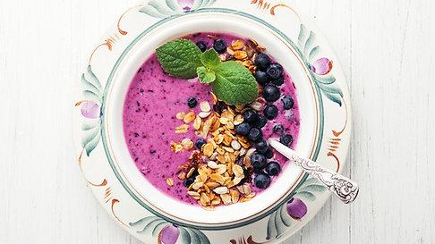 Morning Kickoff Fruit Bowl Smoothie