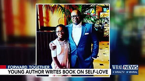 Once bullied, Wake seventh-grader writes book about overcoming challenges