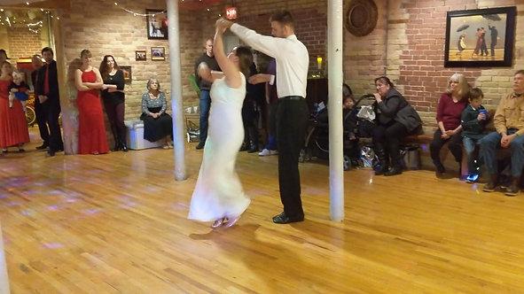 Wedding Dance in Green Bay