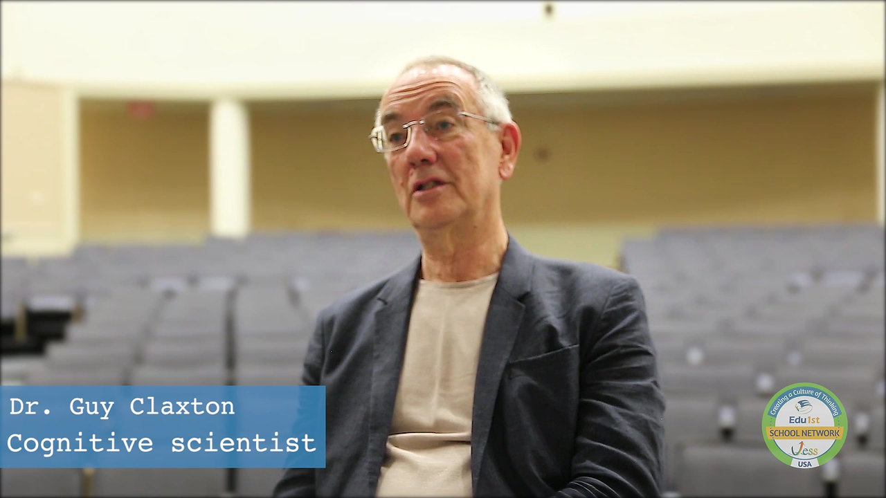 Guy Claxton: How Can We Cultivate Independent Learners?