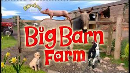 Playing Digger the dog in Big Barn Farm