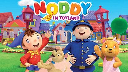 Playing Tessie Bear in Noddy