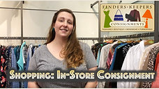 Shopping In-Store Consignment