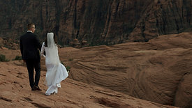 A Bridal Film on Red Rock