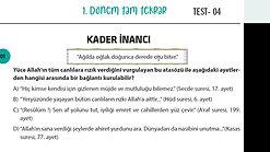 din.4.test 1. soru