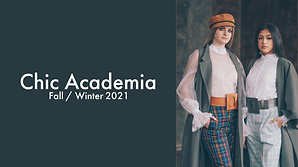 Chic Academia F/W 2021