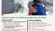 Family Camp email