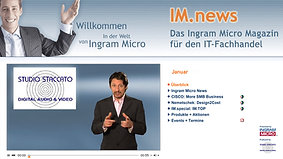 IM.news Internet TV-Portal - Shortcut