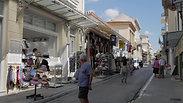 Athens travel ban. Empty Athens, Plaka.