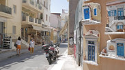 Coronavirus travel ban Athens, Greece 4K footage.