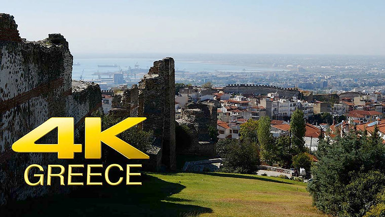 Greece 4K Stock video footage