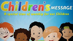 Children's message - Parable of the talents