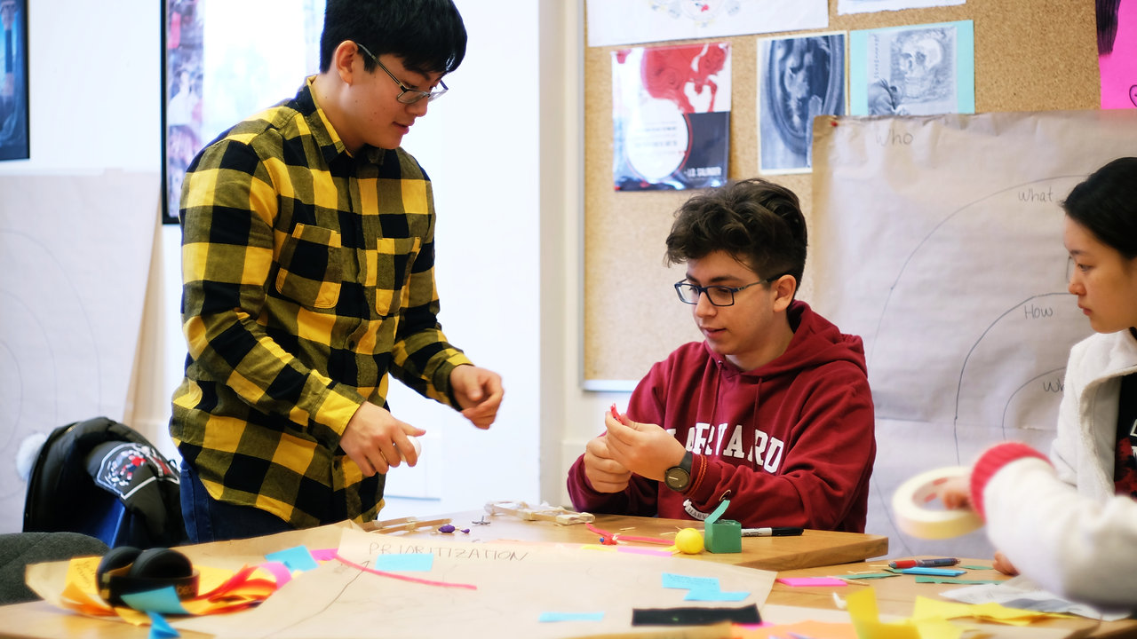 Bridging the gap between the classroom experience and the world beyond school