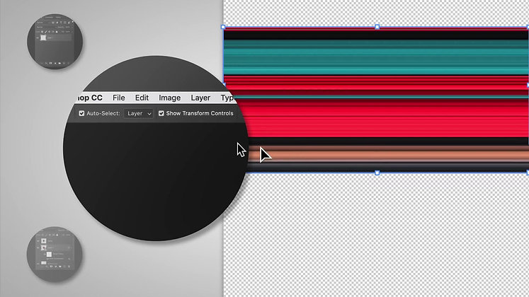 How to Make a Circular Pixel Stretch in Photoshop